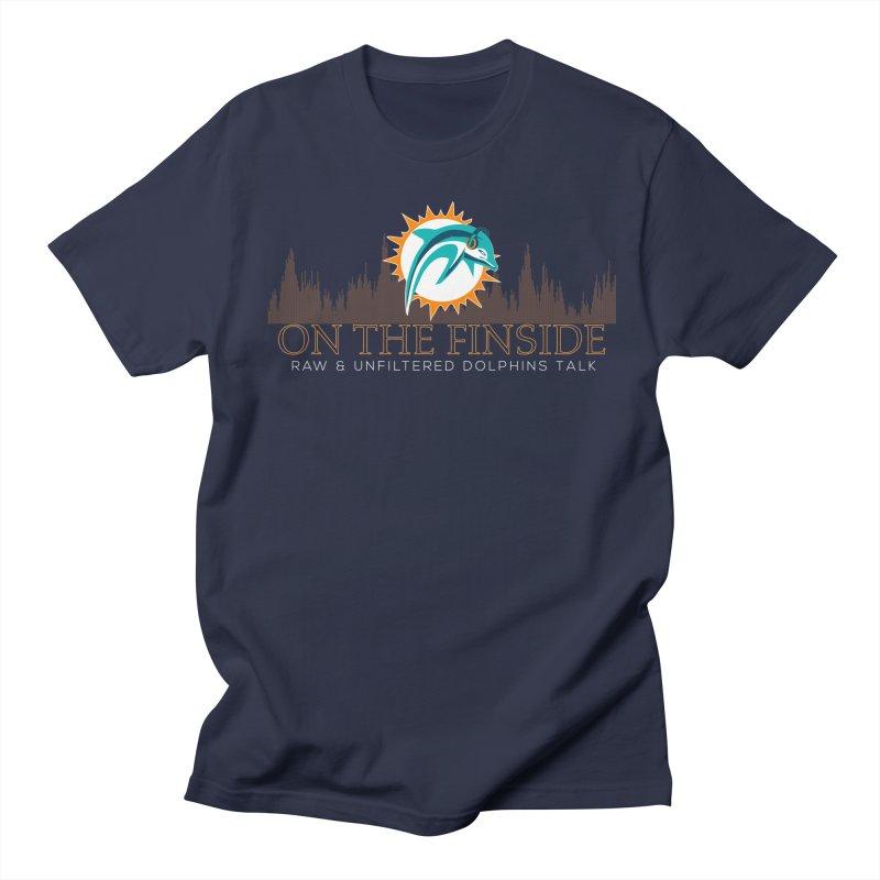 FinSide Fire Men's Regular T-Shirt by On The Fin Side's Artist Shop
