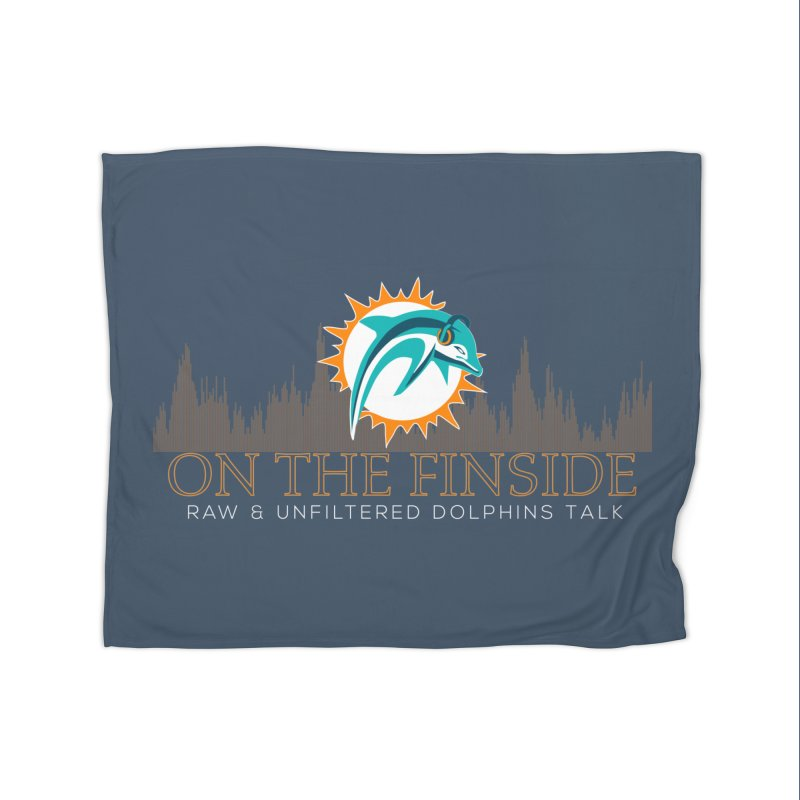 FinSide Fire Home Blanket by On The Fin Side's Artist Shop