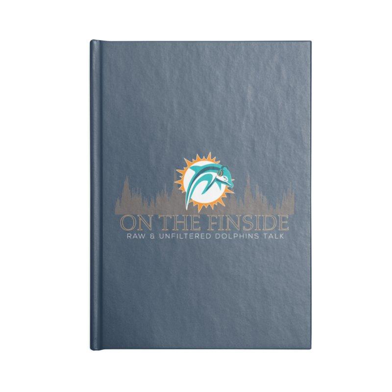 FinSide Fire Accessories Notebook by OnTheFinSide's Artist Shop