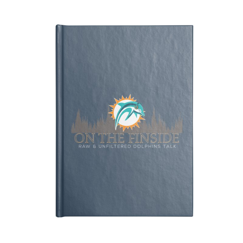 FinSide Fire Accessories Lined Journal Notebook by On The Fin Side's Artist Shop