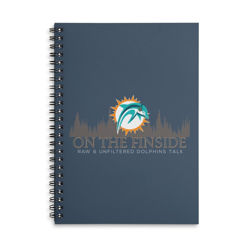 FinSide Fire Accessories Lined Spiral Notebook by On The Fin Side's Artist Shop