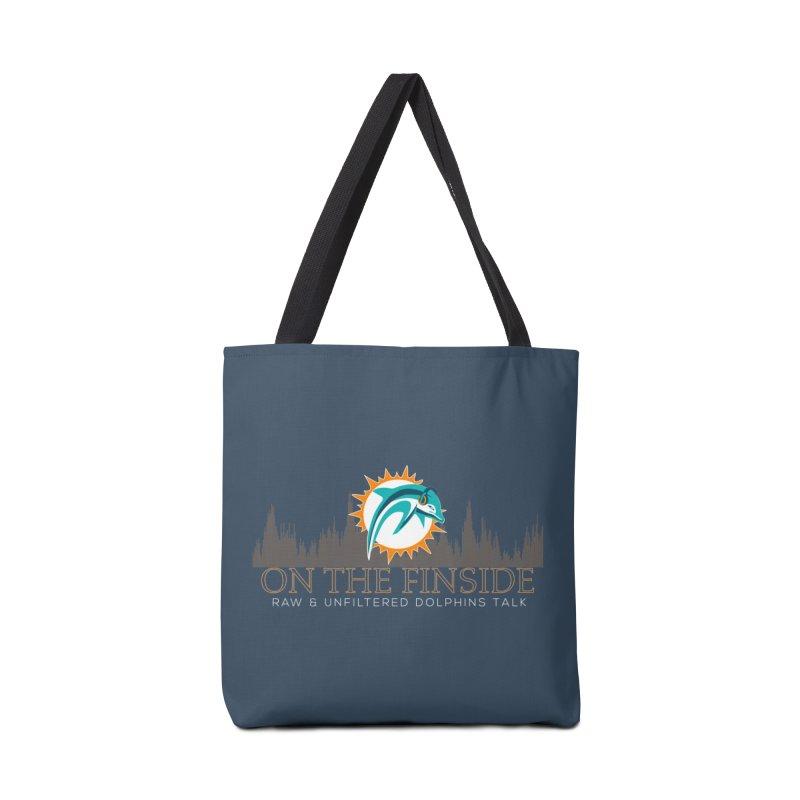 FinSide Fire Accessories Bag by OnTheFinSide's Artist Shop