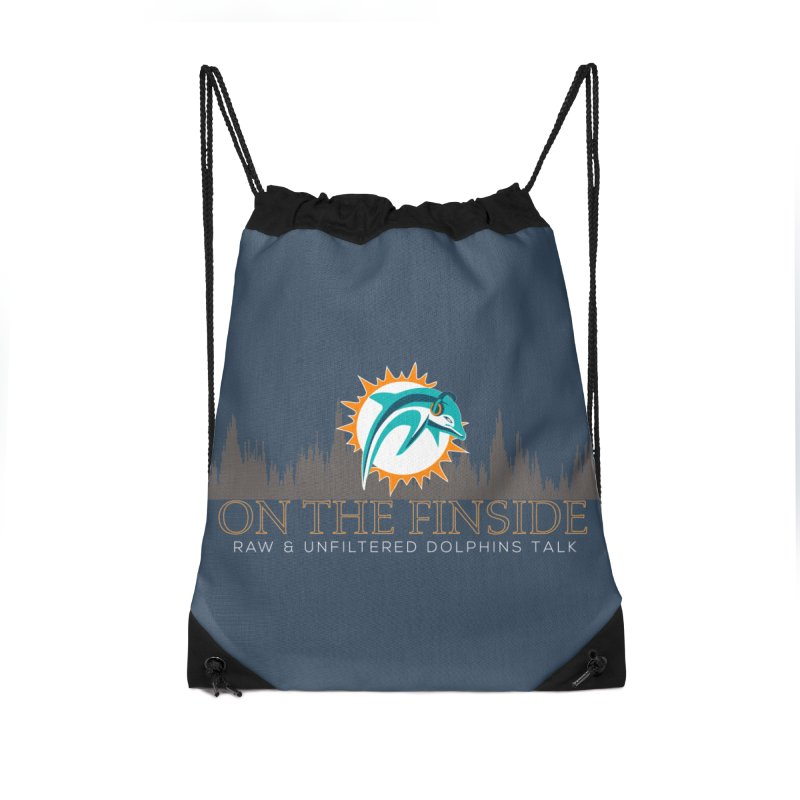 FinSide Fire Accessories Bag by On The Fin Side's Artist Shop