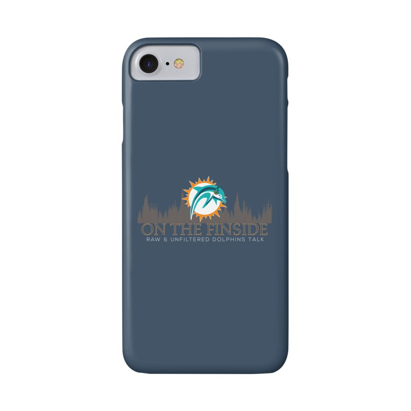 FinSide Fire Accessories Phone Case by On The Fin Side's Artist Shop