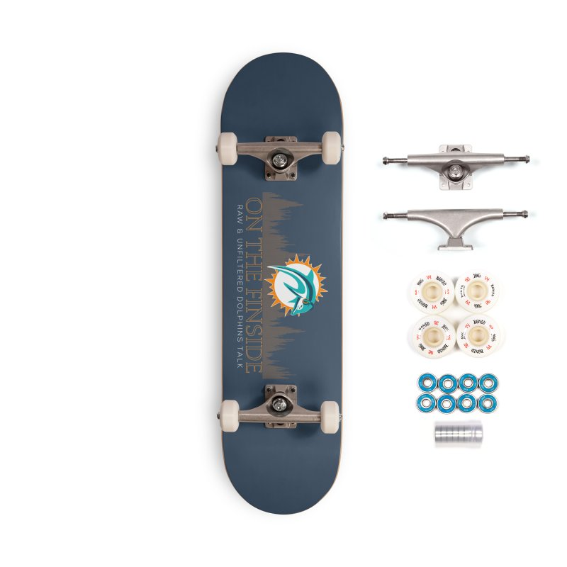 FinSide Fire Accessories Complete - Premium Skateboard by On The Fin Side's Artist Shop