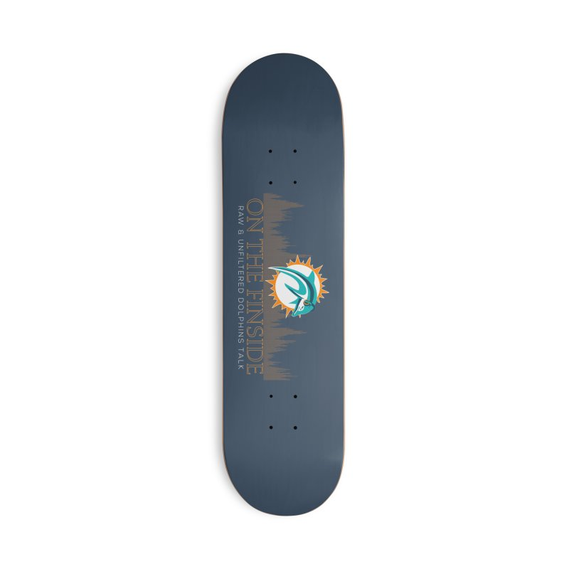 FinSide Fire Accessories Skateboard by On The Fin Side's Artist Shop