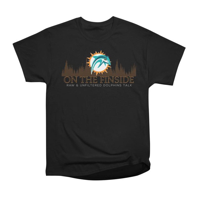 Aqua Fire Women's T-Shirt by On The Fin Side's Artist Shop