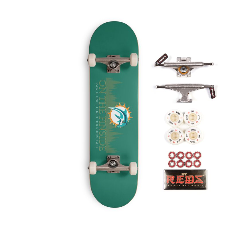 Aqua Fire Accessories Complete - Pro Skateboard by On The Fin Side's Artist Shop