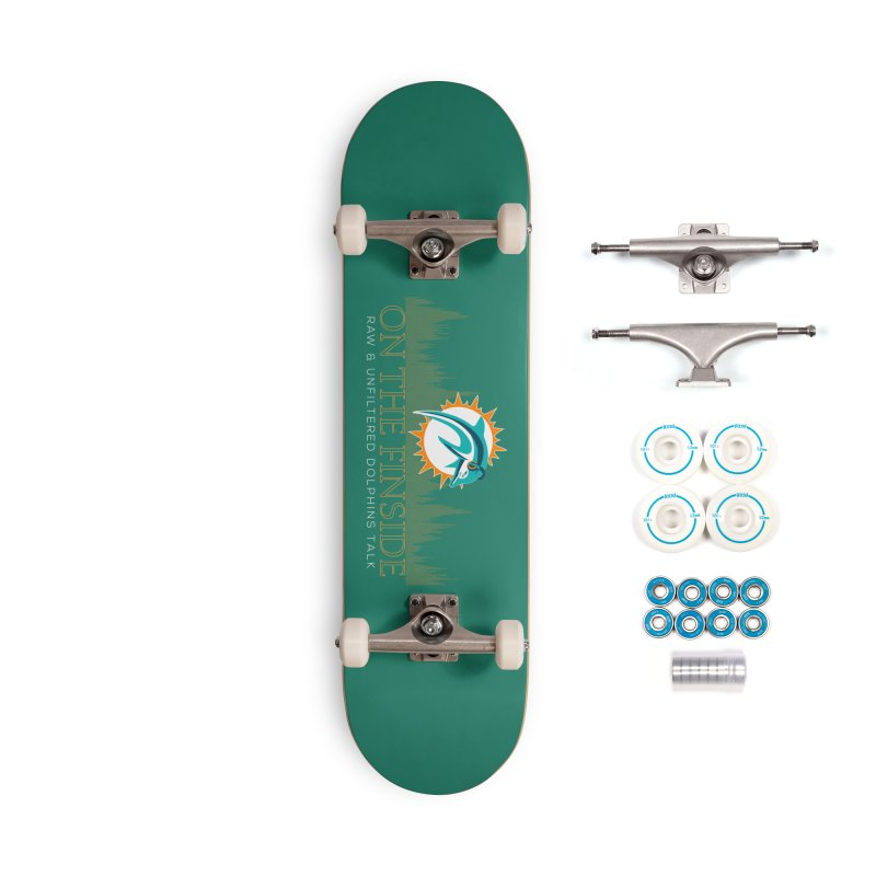Aqua Fire Accessories Complete - Basic Skateboard by On The Fin Side's Artist Shop