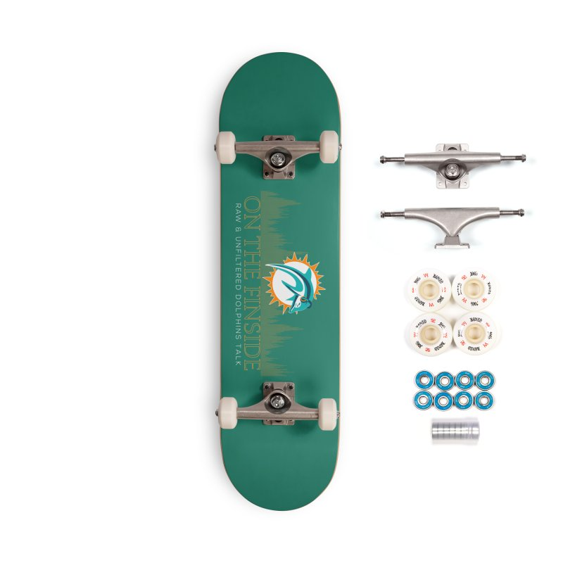 Aqua Fire Accessories Complete - Premium Skateboard by On The Fin Side's Artist Shop
