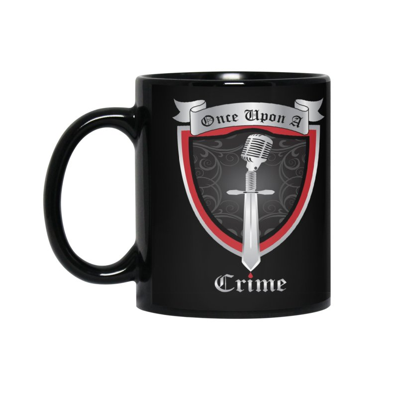 Once Upon A Crime Logo Accessories Standard Mug by Once Upon a Crime