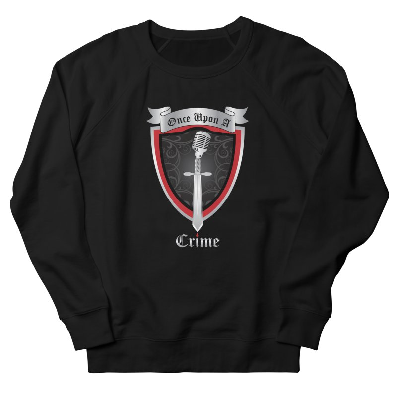Once Upon A Crime Logo Women's French Terry Sweatshirt by Once Upon a Crime