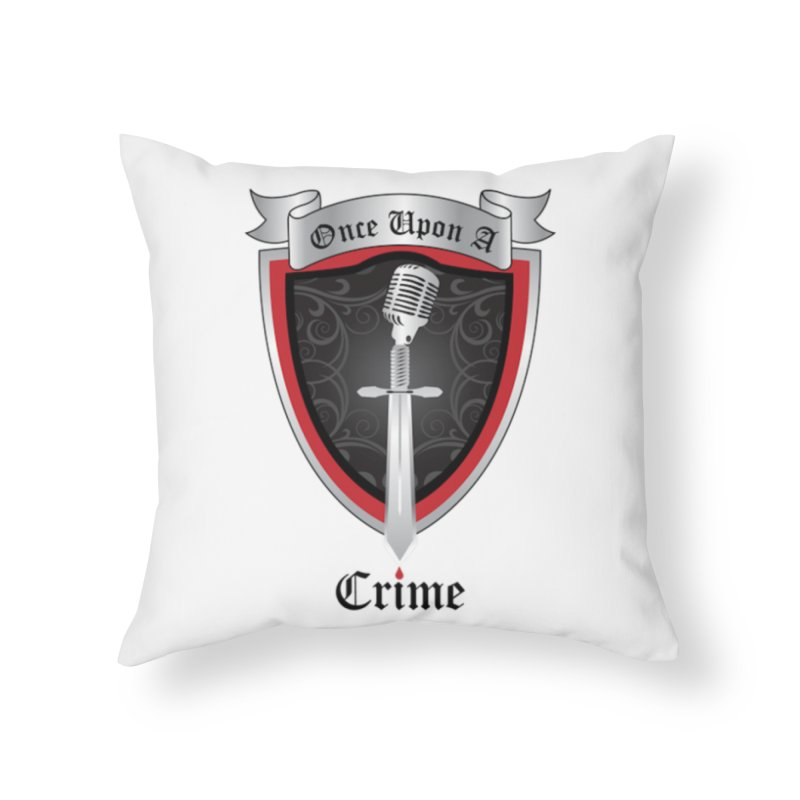 OUAC O.G. Home Throw Pillow by Once Upon a Crime