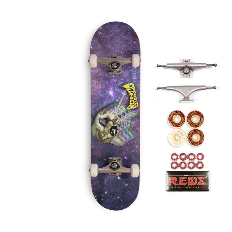 Lazer Pirate Kitty Accessories Skateboard by Oppositebox's Online Shop