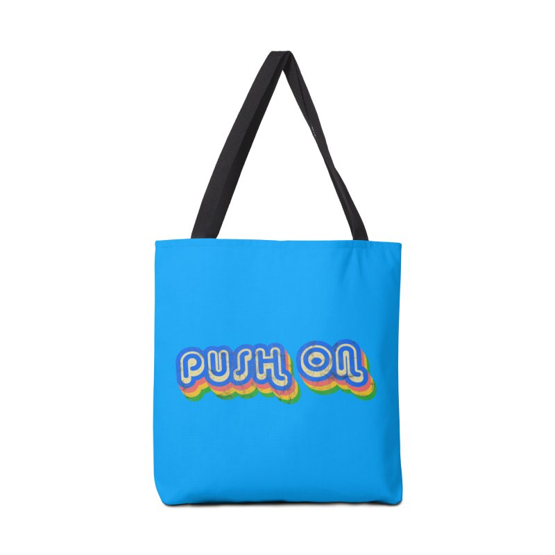 Push On Accessories Bag by Oppositebox's Online Shop