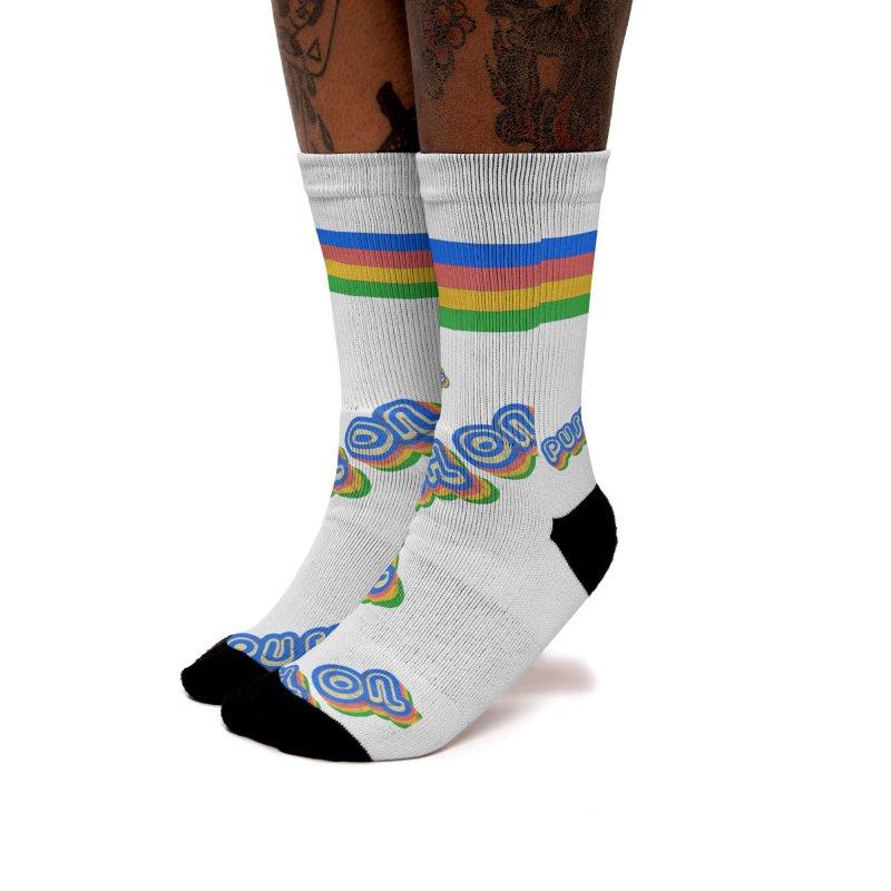 Push On Women's Socks by Oppositebox's Online Shop