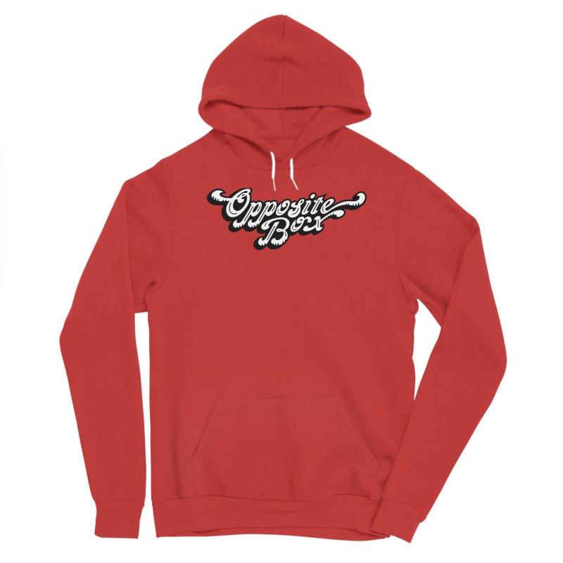 Opposite Box logo Men's Pullover Hoody by Oppositebox's Online Shop