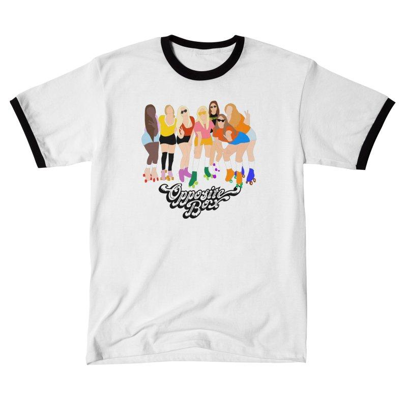 Roller Girl Squad Men's T-Shirt by Oppositebox's Online Shop