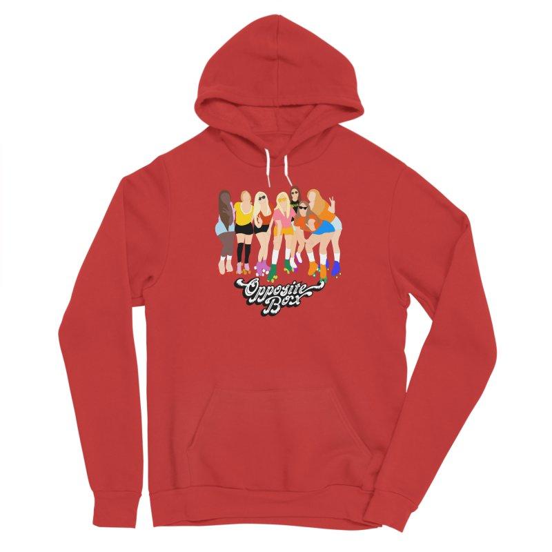 Roller Girl Squad Men's Pullover Hoody by Oppositebox's Online Shop