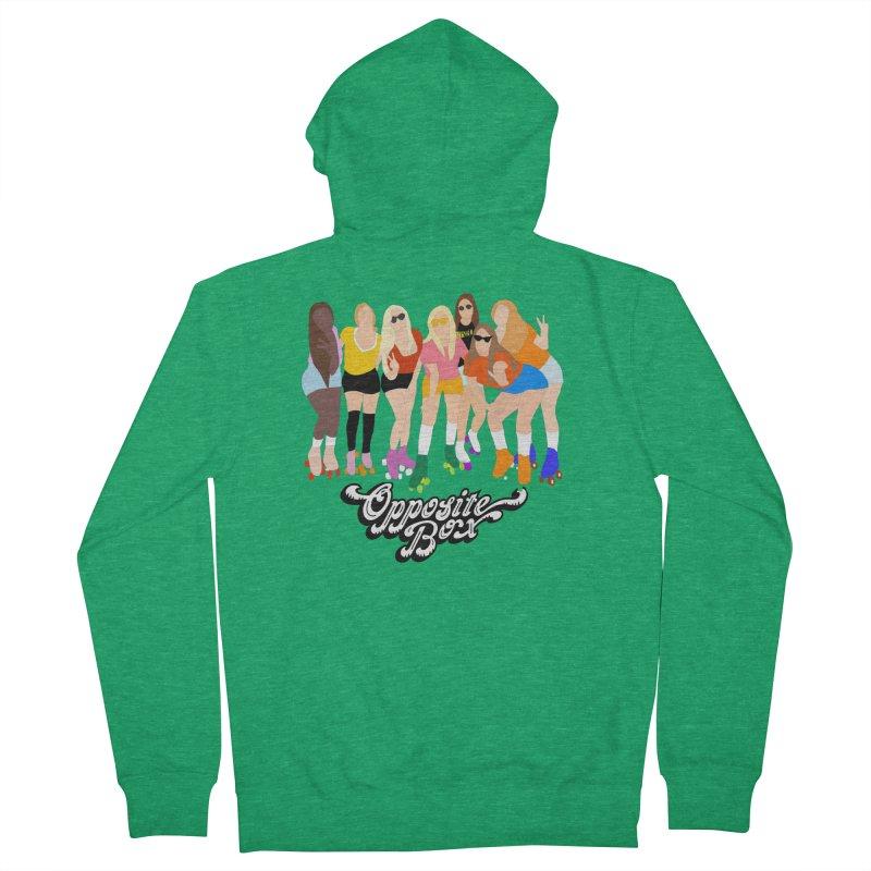 Roller Girl Squad Women's Zip-Up Hoody by Oppositebox's Online Shop