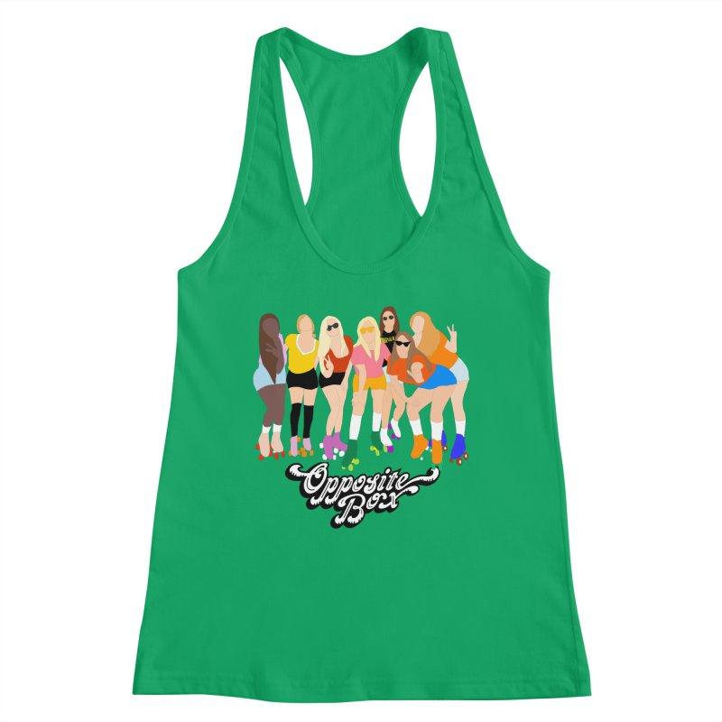 Roller Girl Squad Women's Tank by Oppositebox's Online Shop