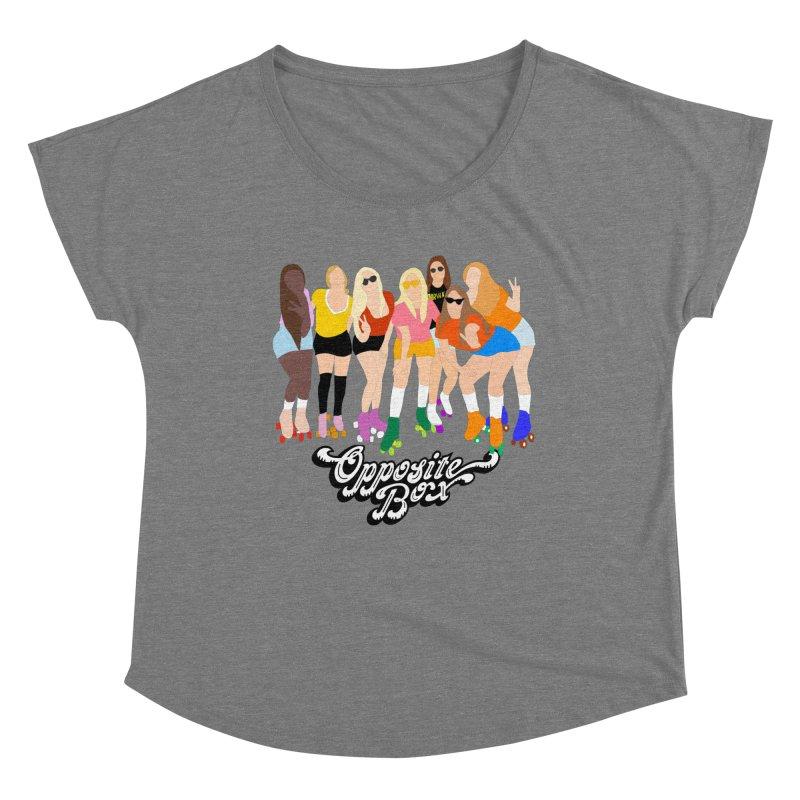 Roller Girl Squad Women's Scoop Neck by Oppositebox's Online Shop
