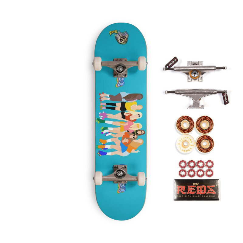 Roller Girl Squad Accessories Skateboard by Oppositebox's Online Shop