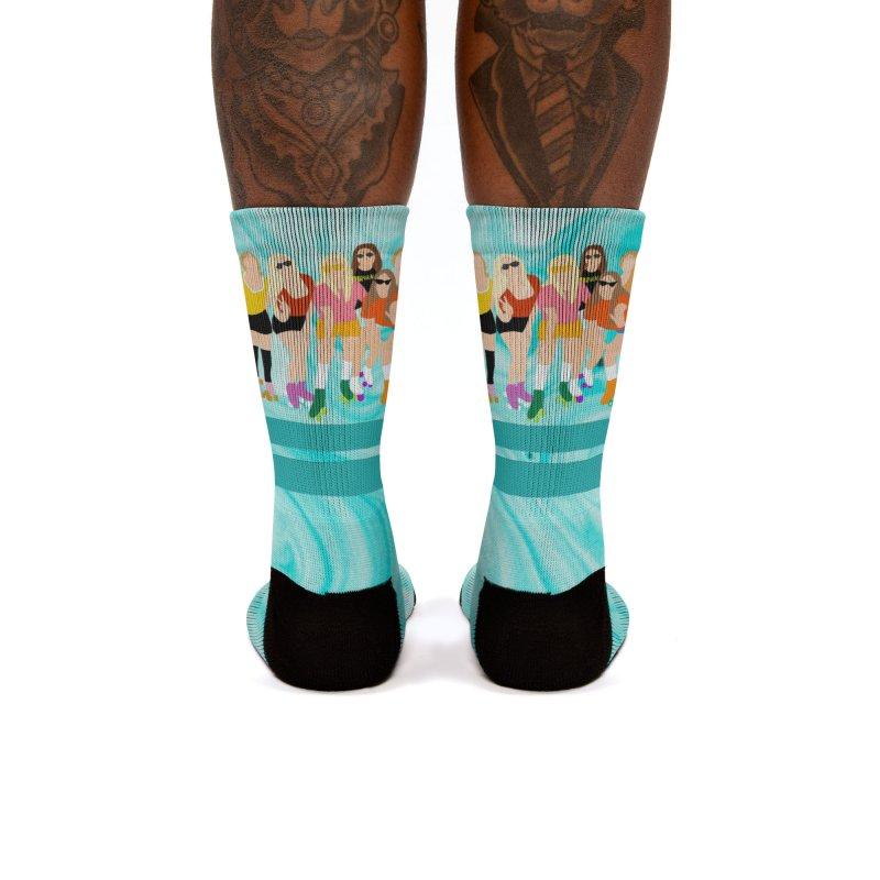 Roller Girl Squad Women's Socks by Oppositebox's Online Shop