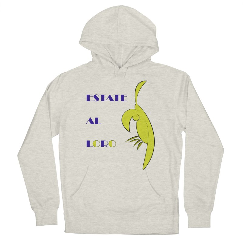 Estate al loro Women's French Terry Pullover Hoody by OsKarTel's Artist Shop
