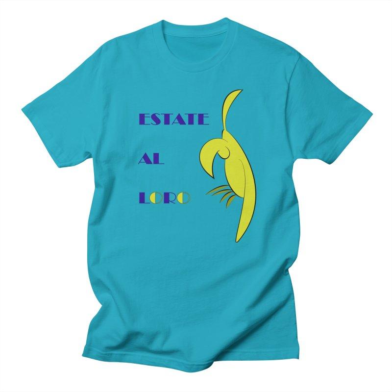 Estate al loro Women's Regular Unisex T-Shirt by OsKarTel's Artist Shop