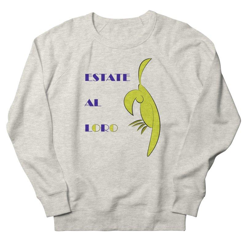 Estate al loro Men's French Terry Sweatshirt by OsKarTel's Artist Shop