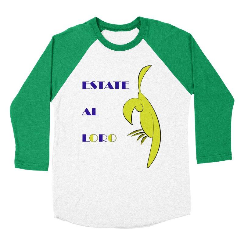 Estate al loro Women's Baseball Triblend Longsleeve T-Shirt by OsKarTel's Artist Shop