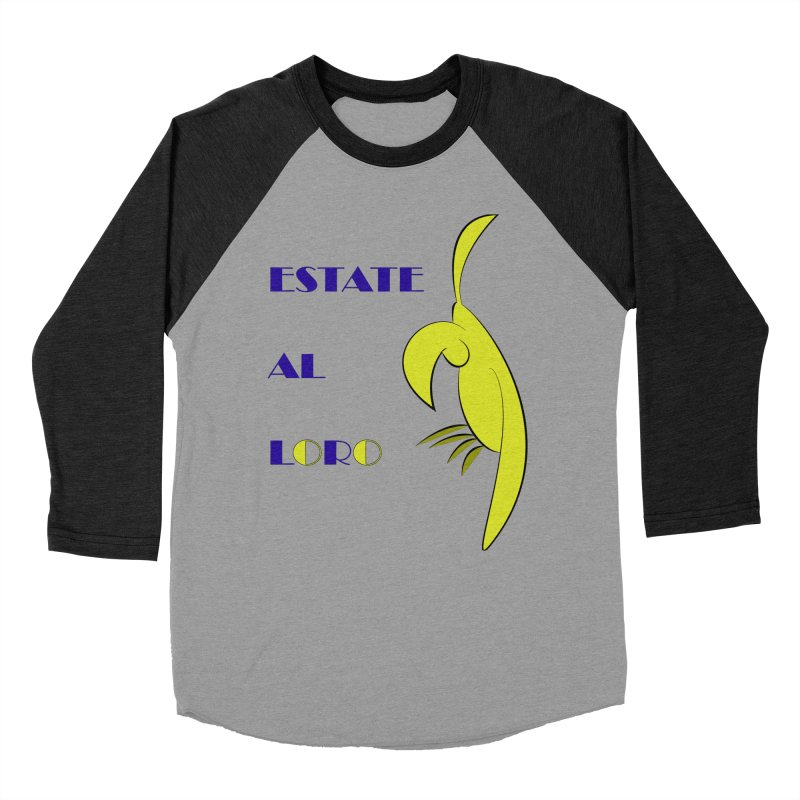 Estate al loro Women's Baseball Triblend Longsleeve T-Shirt by OsKarTel's Artist Shop
