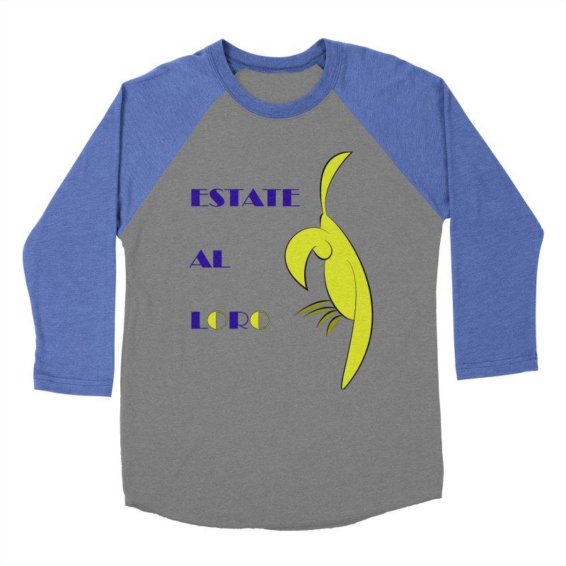 Estate al loro Men's Baseball Triblend Longsleeve T-Shirt by OsKarTel's Artist Shop