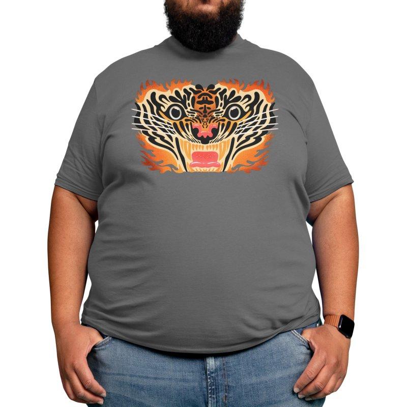 King Tiger Men's T-Shirt by Ossyhello's Artist Shop