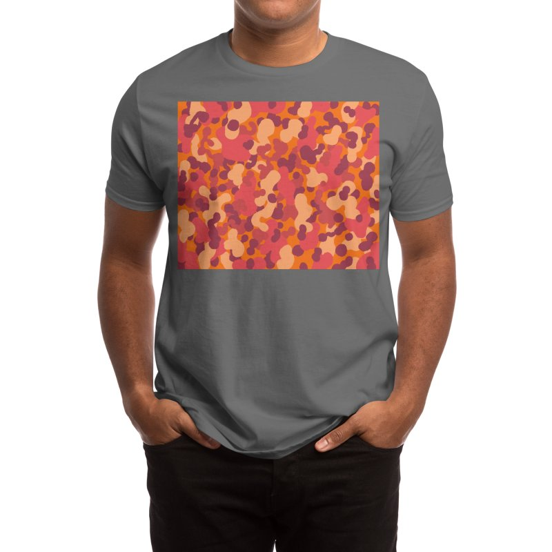 Happy Camo no.1 Men's T-Shirt by Ossyhello's Artist Shop