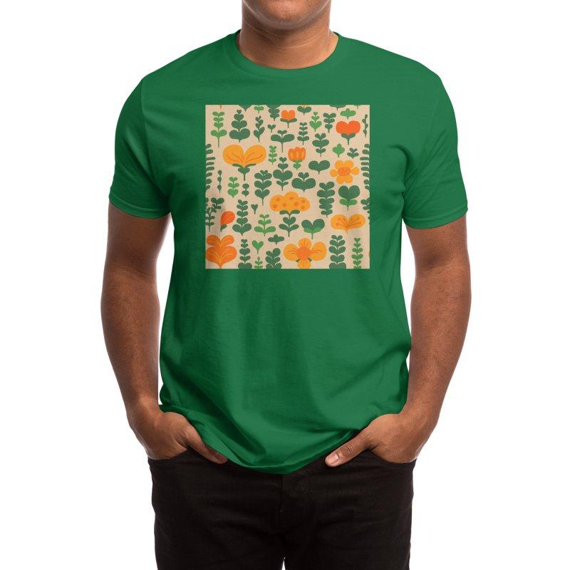 Flower Fields Men's T-Shirt by Ossyhello's Artist Shop