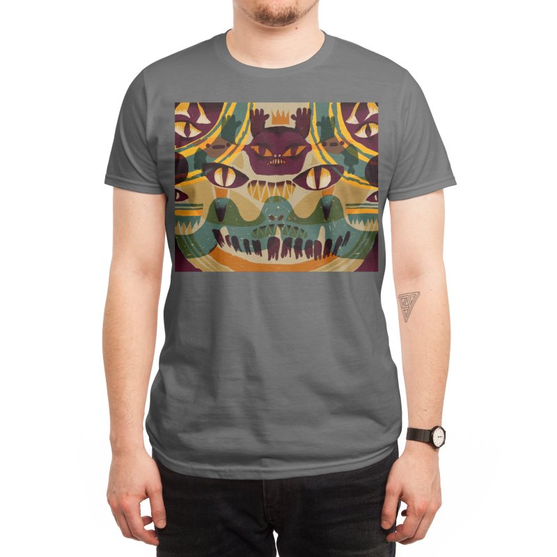 Scary Mask Men's T-Shirt by Ossyhello's Artist Shop