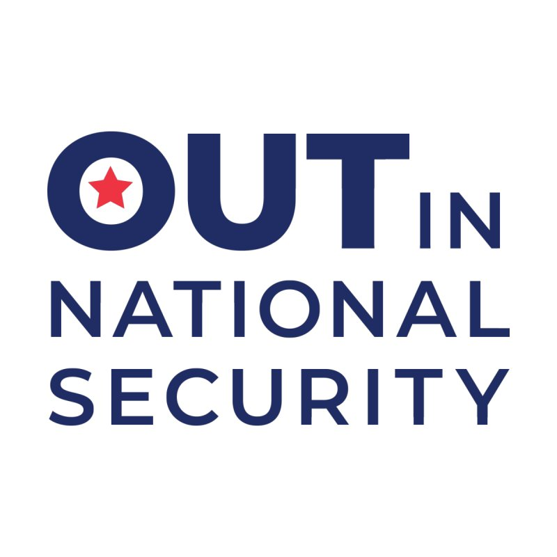 Stacked Logo -Color All Genders T-Shirt by Out in National Security's Shop