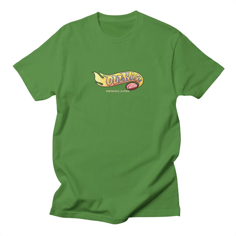 "OUTKAST TATTOO ""HOTKAST"" LOGO Men's T-Shirt by OutkastTattooCompany's Artist Shop"