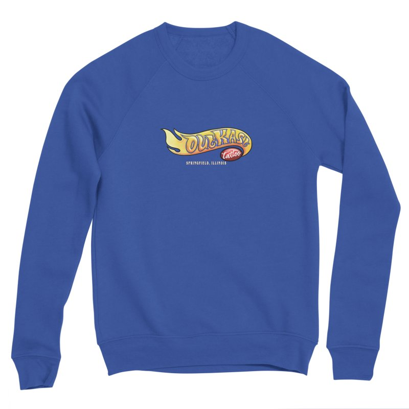 "OUTKAST TATTOO ""HOTKAST"" LOGO Men's Sweatshirt by OutkastTattooCompany's Artist Shop"