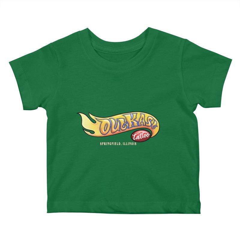 "OUTKAST TATTOO ""HOTKAST"" LOGO Kids Baby T-Shirt by OutkastTattooCompany's Artist Shop"