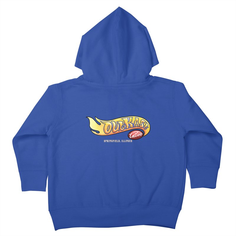 "OUTKAST TATTOO ""HOTKAST"" LOGO Kids Toddler Zip-Up Hoody by OutkastTattooCompany's Artist Shop"