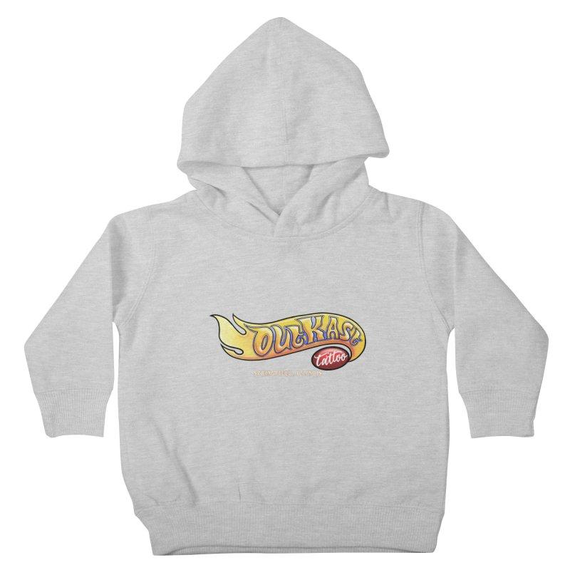 "OUTKAST TATTOO ""HOTKAST"" LOGO Kids Toddler Pullover Hoody by OutkastTattooCompany's Artist Shop"
