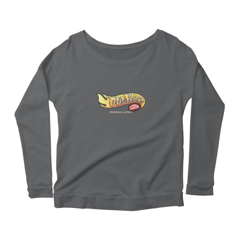 "OUTKAST TATTOO ""HOTKAST"" LOGO Women's Longsleeve T-Shirt by OutkastTattooCompany's Artist Shop"