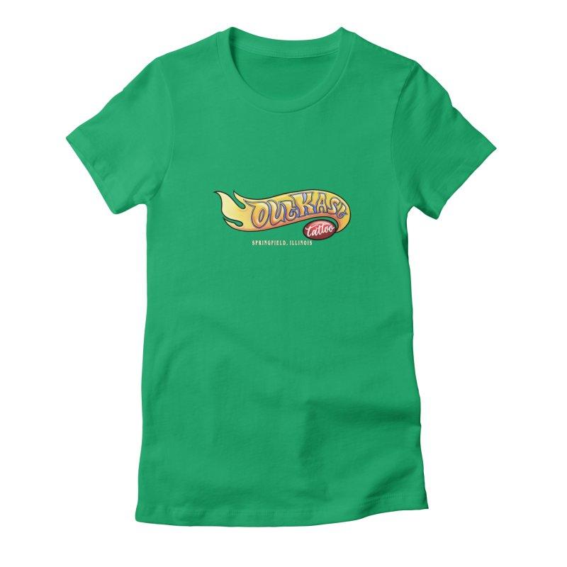 "OUTKAST TATTOO ""HOTKAST"" LOGO Women's T-Shirt by OutkastTattooCompany's Artist Shop"