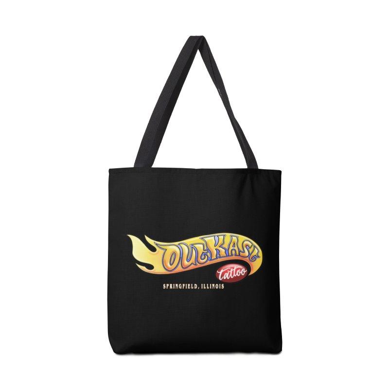 "OUTKAST TATTOO ""HOTKAST"" LOGO Accessories Bag by OutkastTattooCompany's Artist Shop"