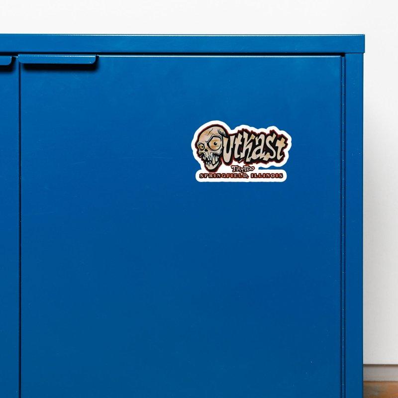 OG LOGO COLOR Accessories Magnet by OutkastTattooCompany's Artist Shop
