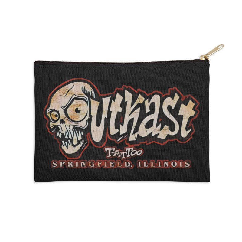 OG LOGO COLOR Accessories Zip Pouch by OutkastTattooCompany's Artist Shop