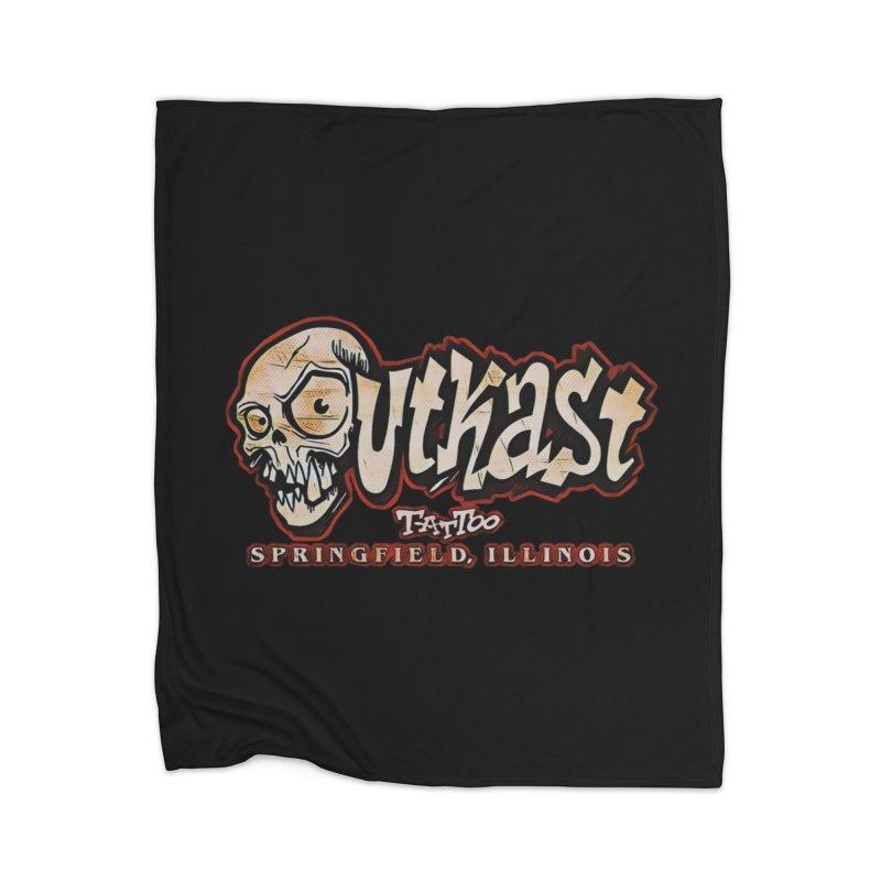 OG LOGO COLOR Home Blanket by OutkastTattooCompany's Artist Shop